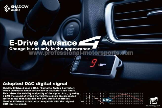 Shadow Advance 4 Throttle Controller
